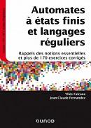 couverture du livre Automates à états finis et langages réguliers