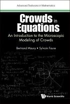 couverture du livre Crowds in Equations