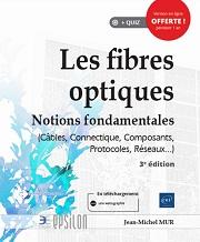 couverture du livre Les fibres optiques