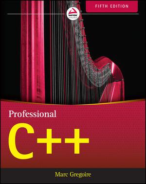 couverture du livre Professional C++