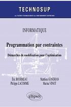 couverture du livre Programmation par contraintes