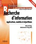 couverture du livre Recherche d'information