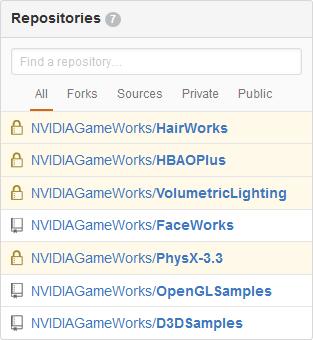 NVIDIA GameWorks : du code source libéré et de nouveaux modules pour