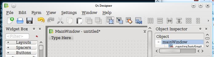Ui Designer: Glade Ui Designer
